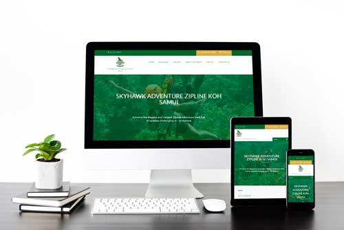 รับทำเว็บไซต์ และออกแบบเว็บไซต์