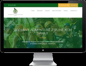 เว็บไซต์สำหรับธุรกิจท่องเที่ยว