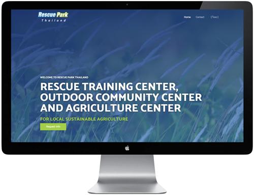 เว็บไซต์สำหรับศูนย์ฝึกอบรมการกู้ภัยในถิ่นทุรกันดาร